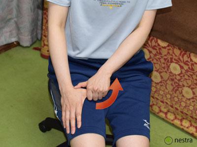 母指CM関節症ストレッチ2