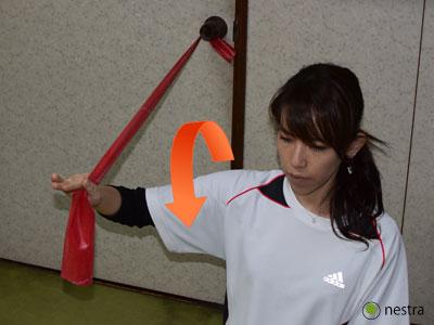 肩インナーマッスルトレーニング9