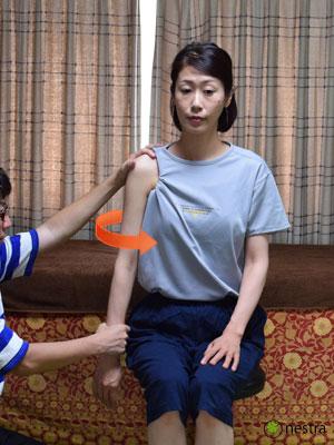 肩の痛みテスト4まとめ-ディンプルサイン1