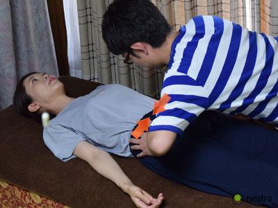 腰の痛みテスト-ニュートン2