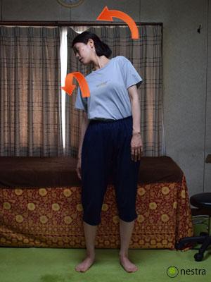 腰の痛みテスト-ケンプ徴候2
