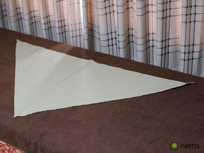 三角巾-巻き方2