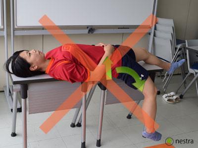 腸腰筋ストレッチ7
