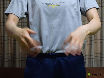 手根管症候群検査フリックサイン