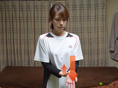 頚椎由来-見極め-肘の曲げ伸ばし反対