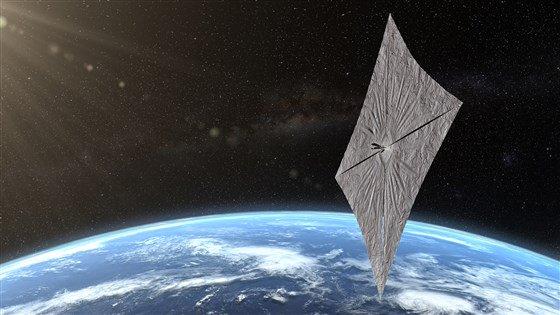 lightsaill «Ομούαμουα» - Είναι κομήτης ή μυστηριώδες διαστημόπλοιο;