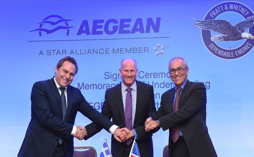 unnamed-18 Συνεργασία της AEGEAN με την Pratt & Whitney