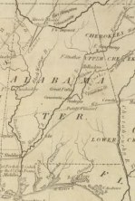 Alabama Territory from David Rumsey Map Collection