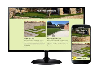 Example of website I created