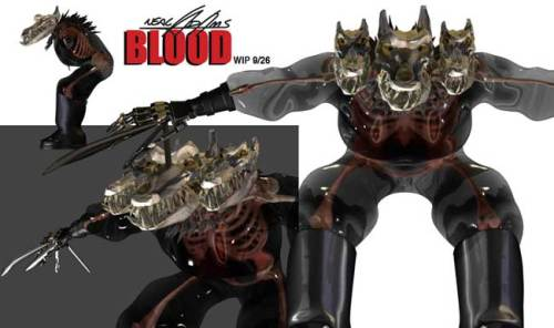 Neal Adams - Blood - Kithrumbus CGI