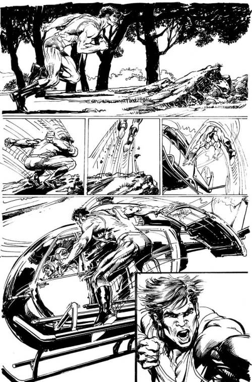 Neal Adams - Megalith - Page Art