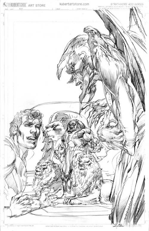 Neal Adams - Superman and The New Gods