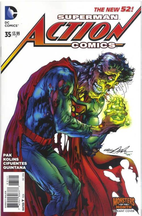 Superman - Action Comic - Monster Month