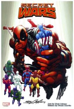 Neal-Adams-Deadpool-Secret-Wars-Print