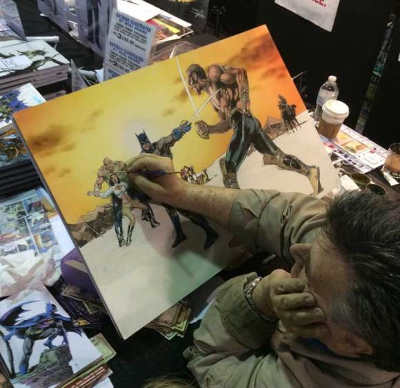 Neal-Adams-Painting