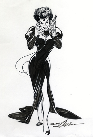 Neal Adams - new madam pegeen