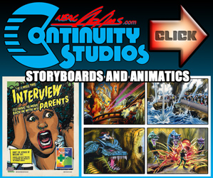 Storyboards and Animatics - Neal Adams Continuity Studios