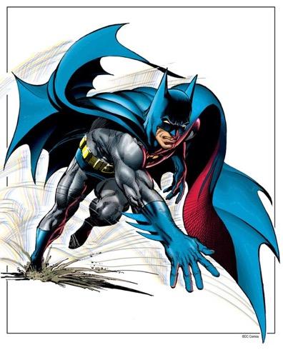 Neal Adams' - Batman Run Forward - Print