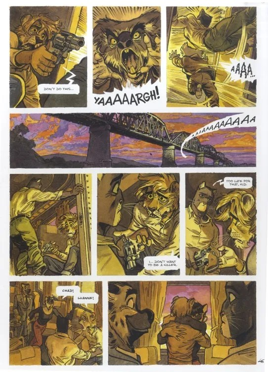 Dark Horse Presents: Blacksad Amarillo - Page 2
