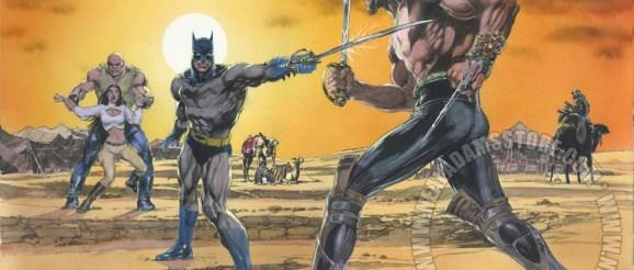 Neal Adams - Batman vs Ras Al Ghul