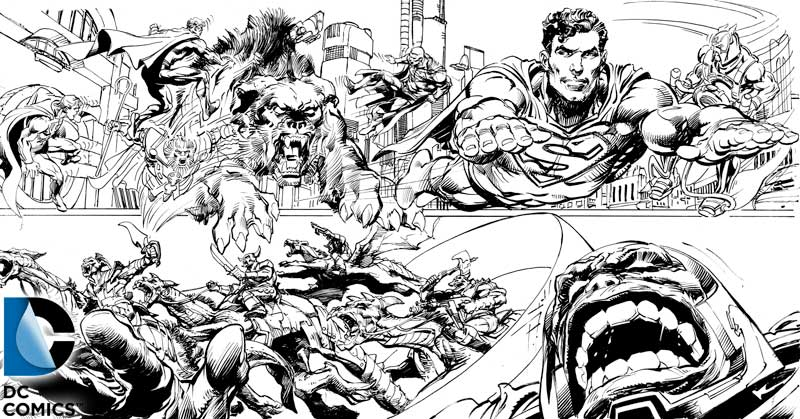 Day20 Coming Of The Supermen - Battle on New Apokolips