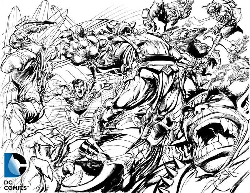 DC Comics, Comic Of The Supermen, By Neal Adams