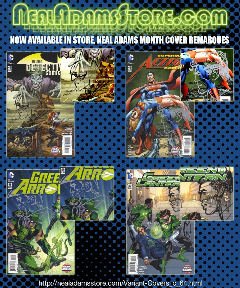 Neal Adams Store Remarques