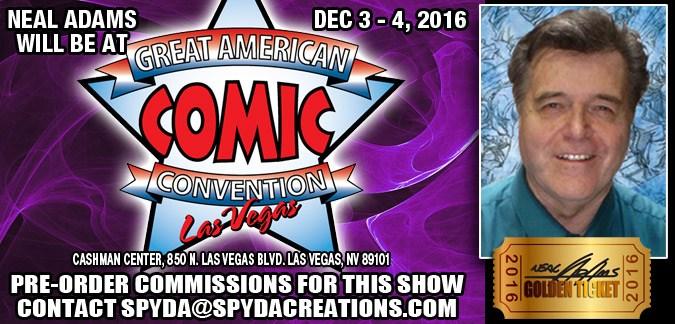 The Great American Comic Con Las Vegas