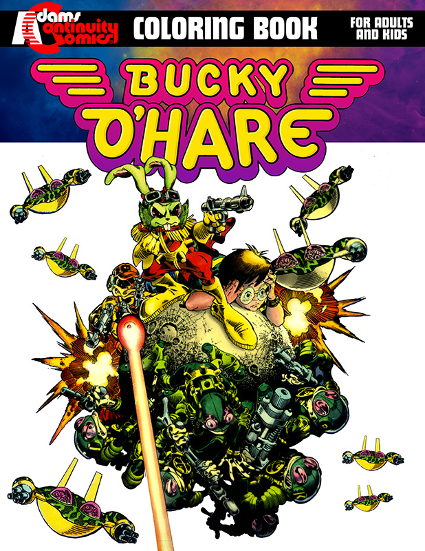 Bucky OHare Coloring Book