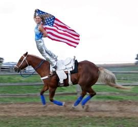 Hippodrome Trick Riding Saddle