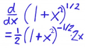 Steps for Finding a Derivative of a Function with a Square ...