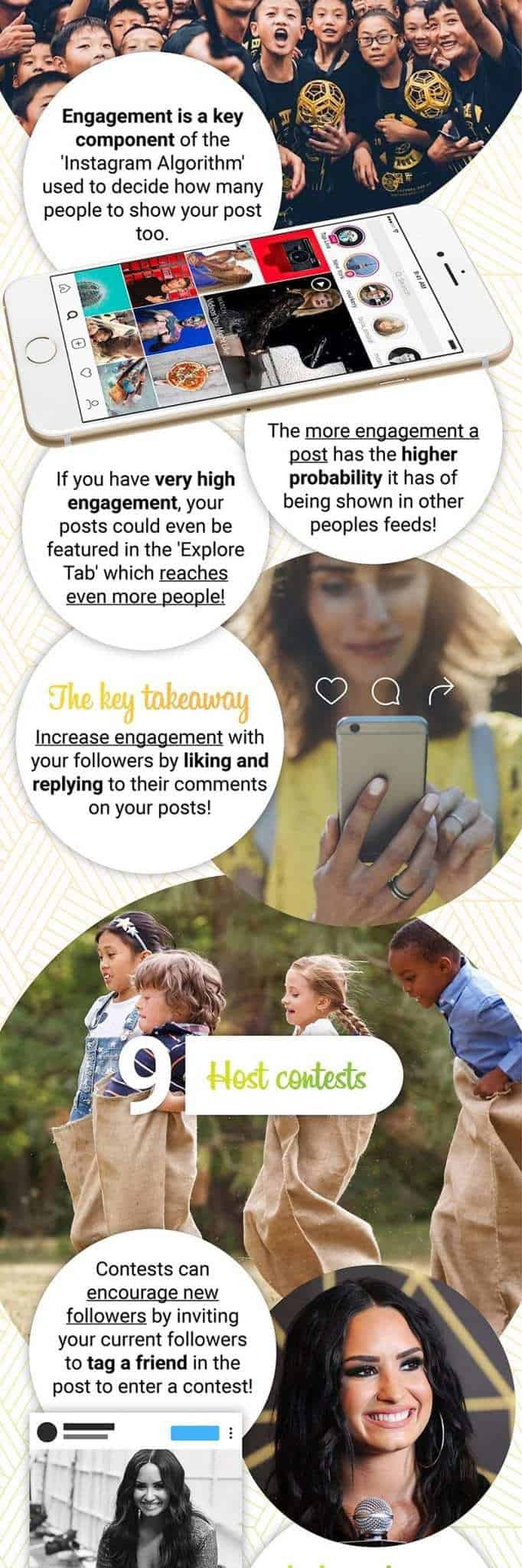 For more tips and tricks on getting more followers for your Instagram, check out this cool infographic.