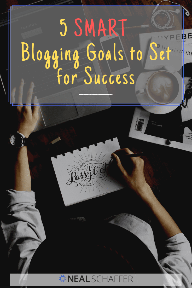 Setting your business goals for the future? Include blogging goals. New content keeps people and Google coming back to your site time and time again.