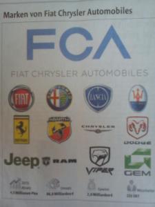 Πολλές οι μάρκες της FIAT - Chrysler