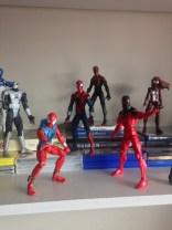 Clones: Ben Reilly Scarlet Spider, Kaine Scarlet Spider, Ben Reilly Spider-man, Superior Spider-man