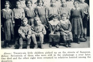 Twenty-six children picked up from the streets of Samsoun.