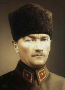 General Kemal Mustafa led the Turkish Nationalism movement and became the first president of the Republic of Turkey.