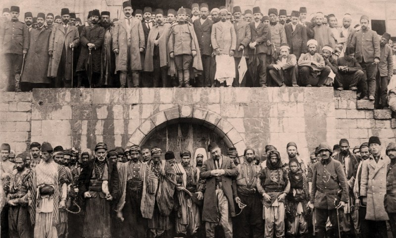 The CUP blamed the Armenians for the CUP's disastrous attempt to invade Russia in December 1914. The CUP accused Armenians of collaborating with the Russian army. The Ottoman government used the failed invasion as a pretext for a plan to destroy the Ottoman Armenian population.