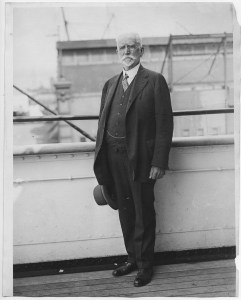 James L. Barton, one of the founders of Near East Relief, on one of many trips to the Near East.