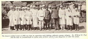 Dr. Wilfred H. Post and his staff in Constantinople