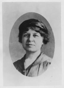 Portrait of Near East Relief worker Adelia H. Chickering
