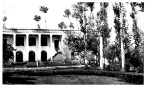 The main building at the American College of Urumia served as Near East Relief headquarters for the region. This building was one of the few important structures left standing after the devastating siege of Urumia.