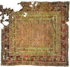 Armenian handmade carpets. A colorful carpet that represents the heritage of Armenian culture.