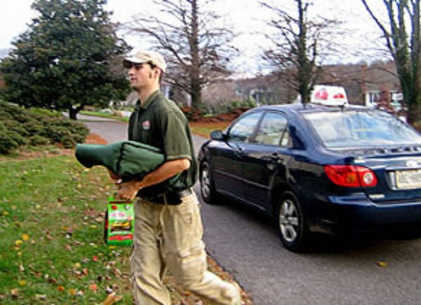 delivery driver papa john's