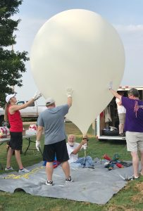Eclipse Balloon Launch