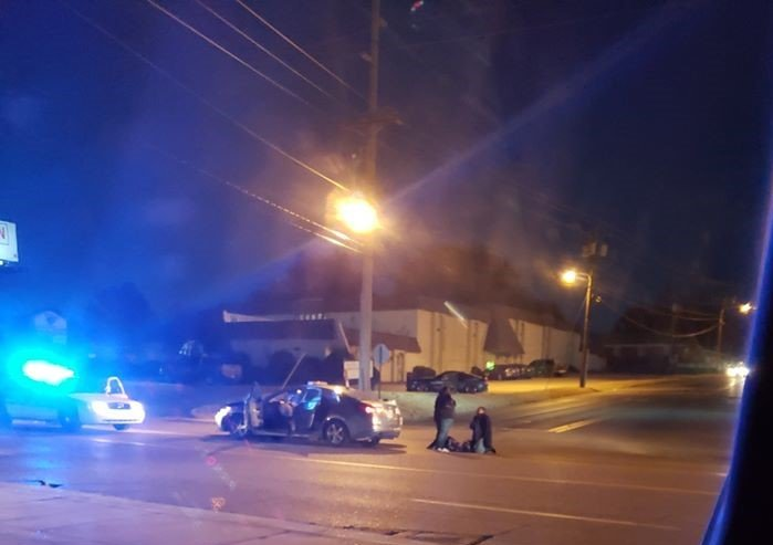 JPD Wreck on Caraway Road