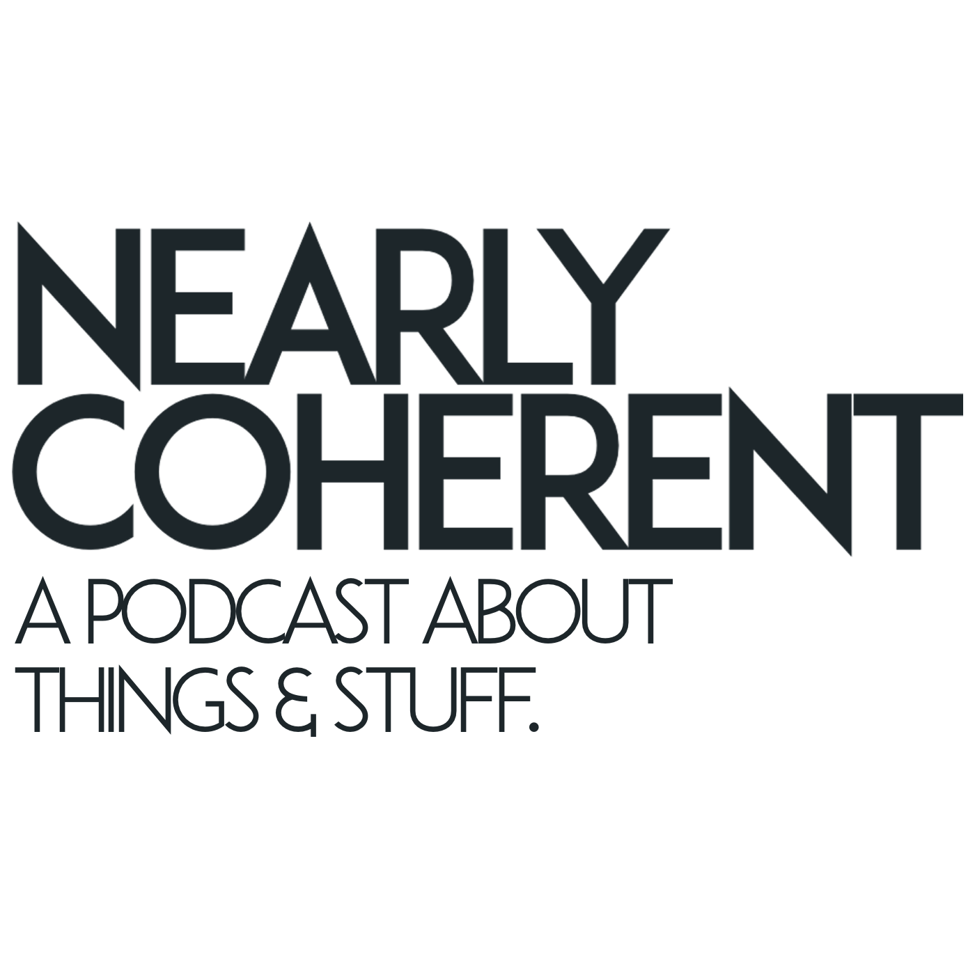 The Nearly Coherent Podcast Album Art