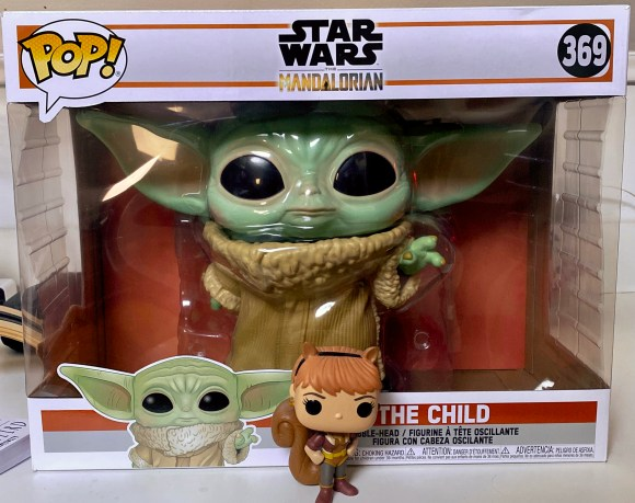 eD!'s Giant-Ass Baby Yoda POP! Figure