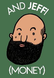 Jeff (Money), cartoon-style