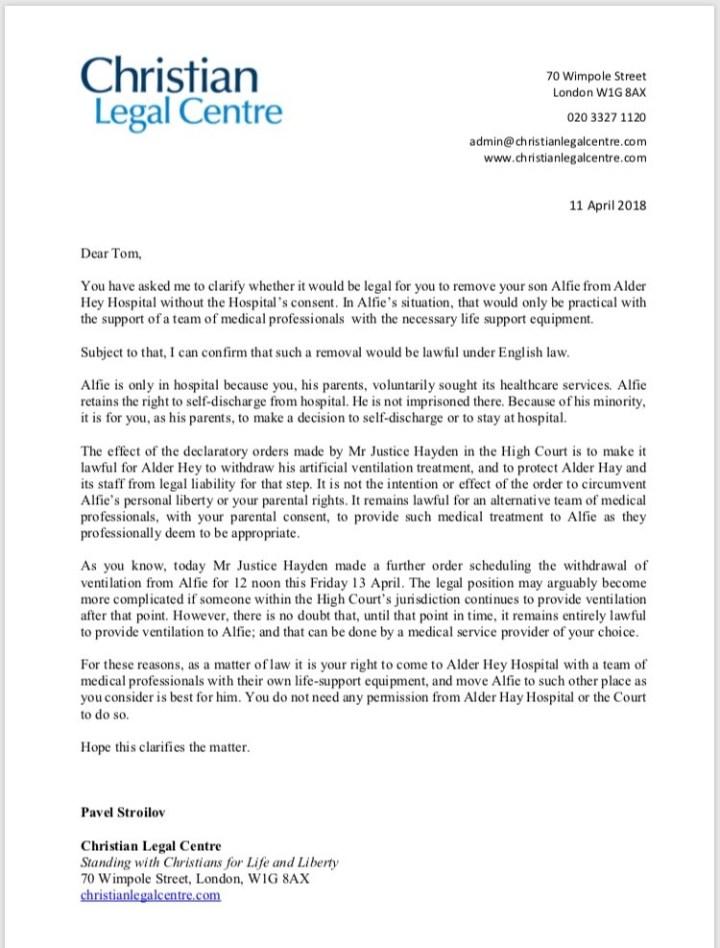 clc letter